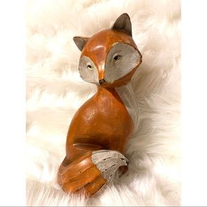 Fox Decor Fall Holiday Decoration
